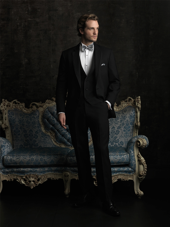 Black Allure Mens Formal Wear